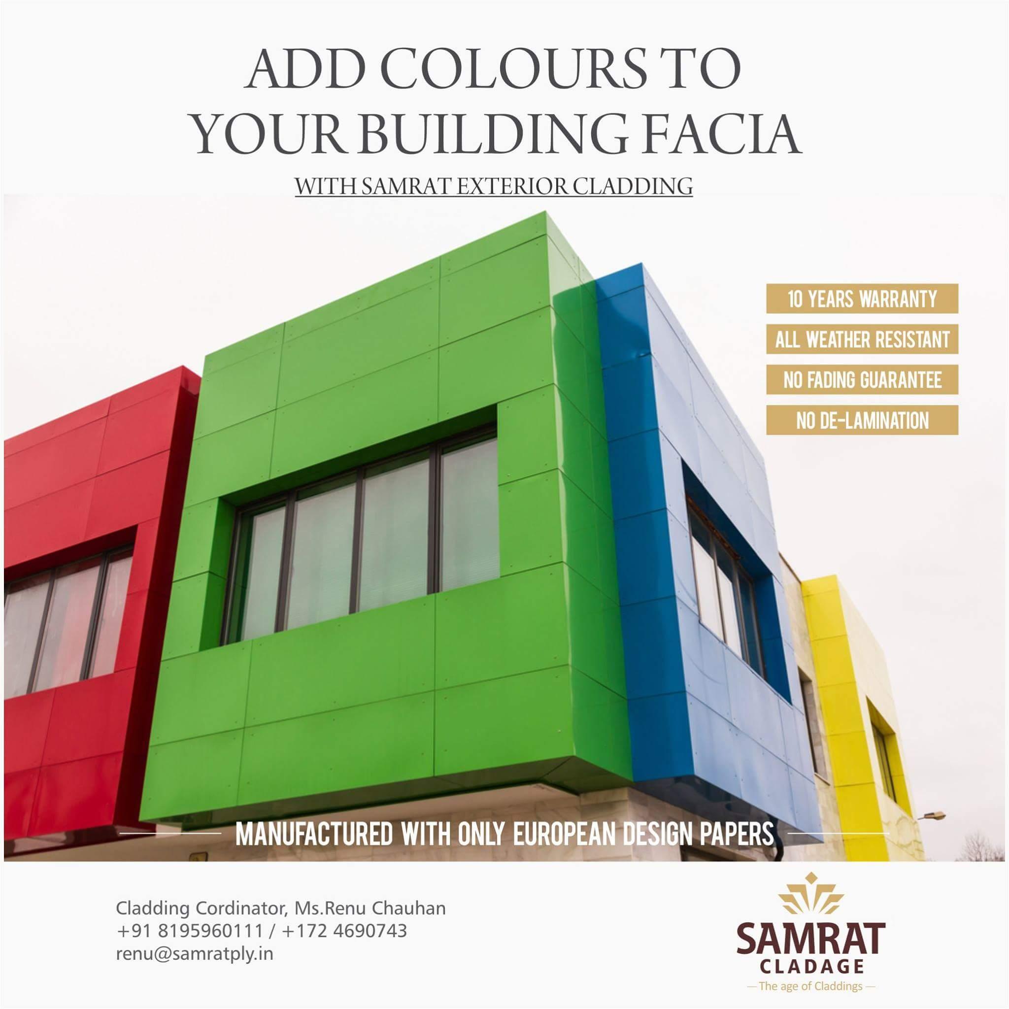 Adding Colour to Facia_Plain Colours_roof cladding materials