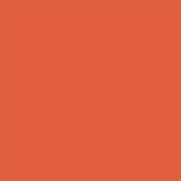 orange red wall cladding