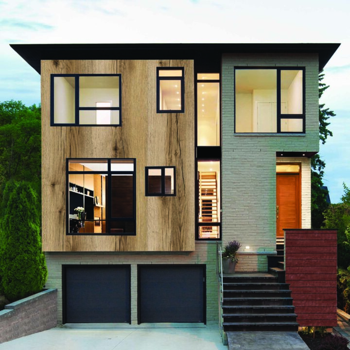 interior exterior delano oak light wooden cladding look