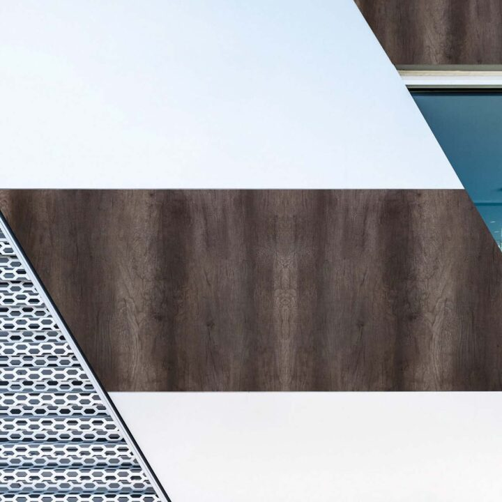 interior exterior grey monument oak wooden cladding look