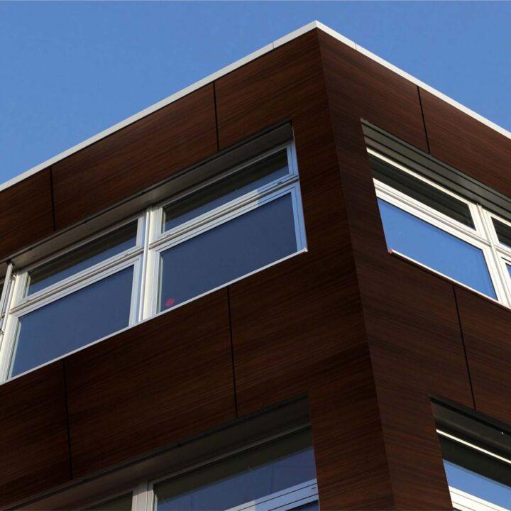 interior exterior wisconsin walnut wooden cladding look